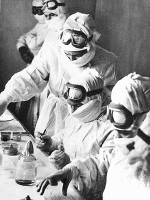 Soviet biochemical lab