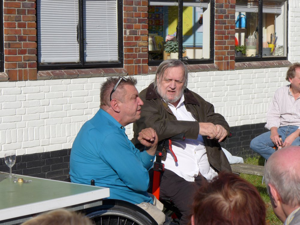 Jan Henderikse en Rob Scholte
